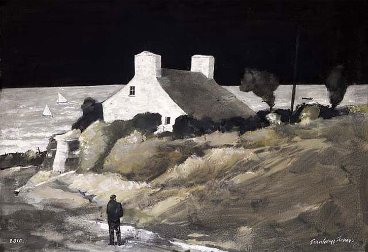 John-Knapp-Fisher, Cottage No-More, Pembrokeshire