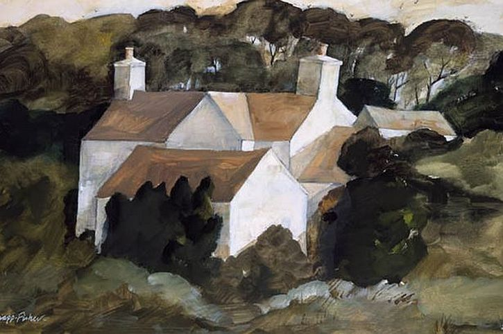 John-Knapp-Fisher, Farm buildings and rookery
