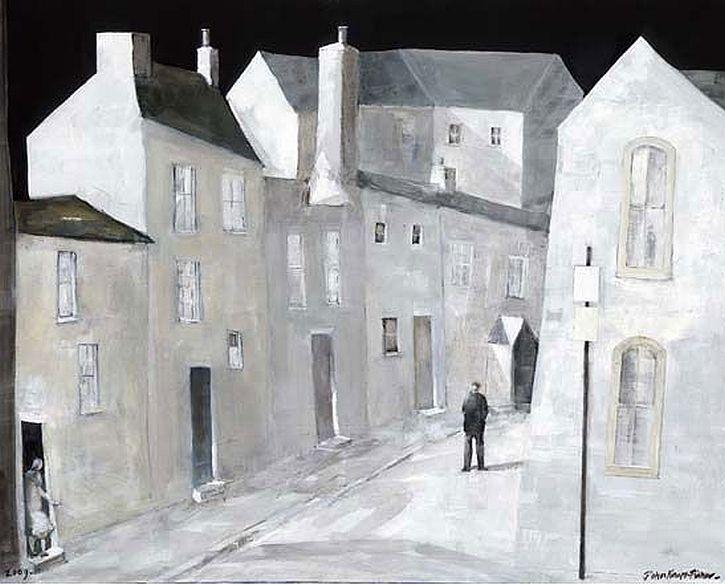 John-Knapp-Fisher, Figure in the Street