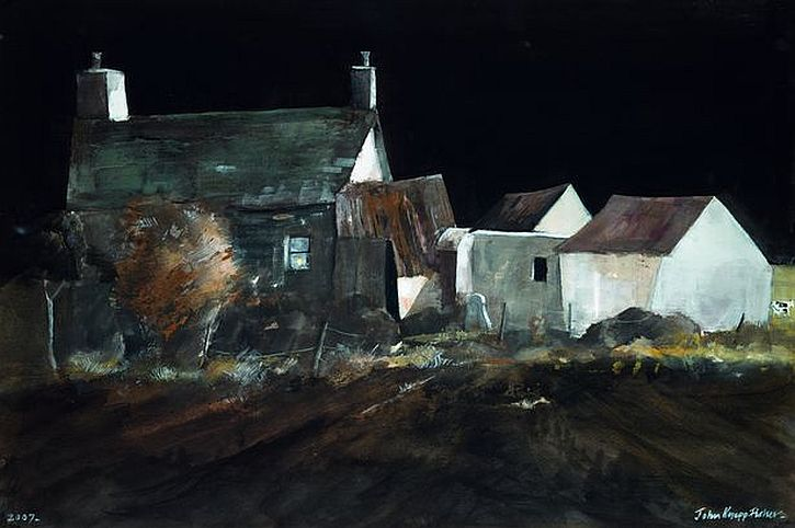 John-Knapp-Fisher, Smallholding