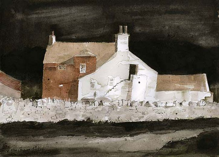 John-Knapp-Fisher, The Empty Farmhouse