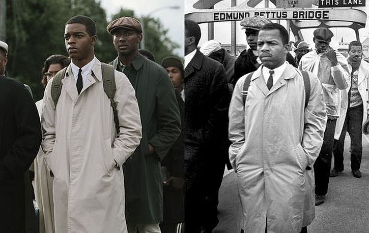 John Lewis then and now