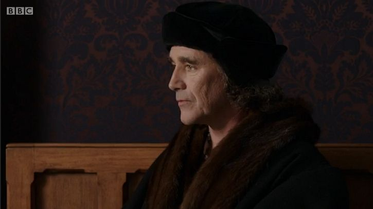Mark Rylance as Cromwell