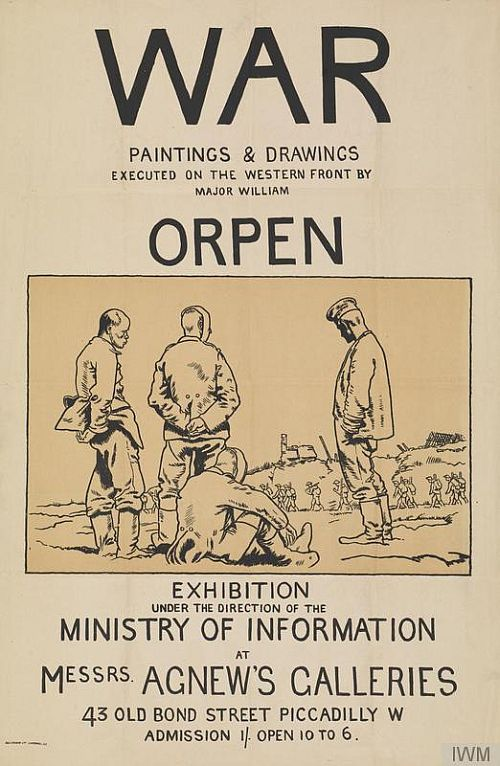 Orpen exhibition poster