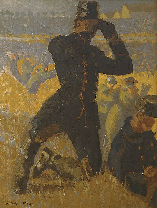Walter Sickert, The Integrity of Belgium, 1914