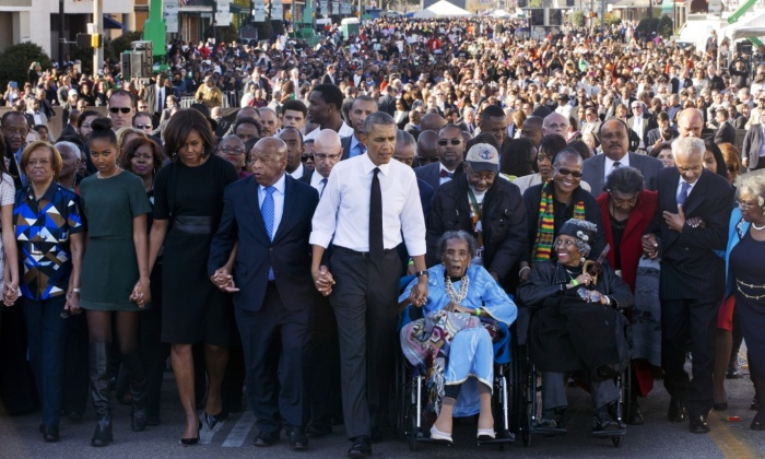 Selma 50 years on: one of Obama's finestspeeches