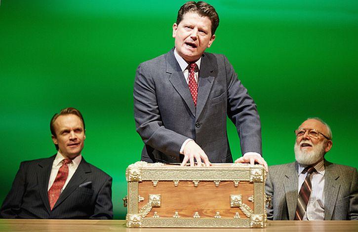 Gyuri Sarossy as Malcolm Pryce, Reece Dinsdale as George Jones, Barry McCarthy as Bryden Thomas