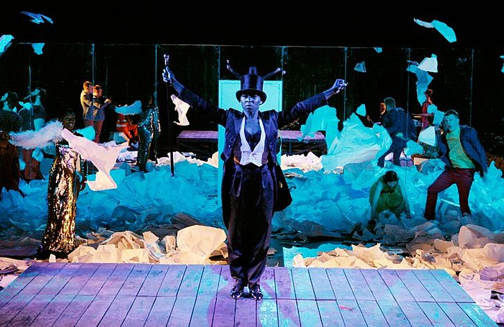 Cynthia Erivo as Puck in A Midsummer Night's Dream