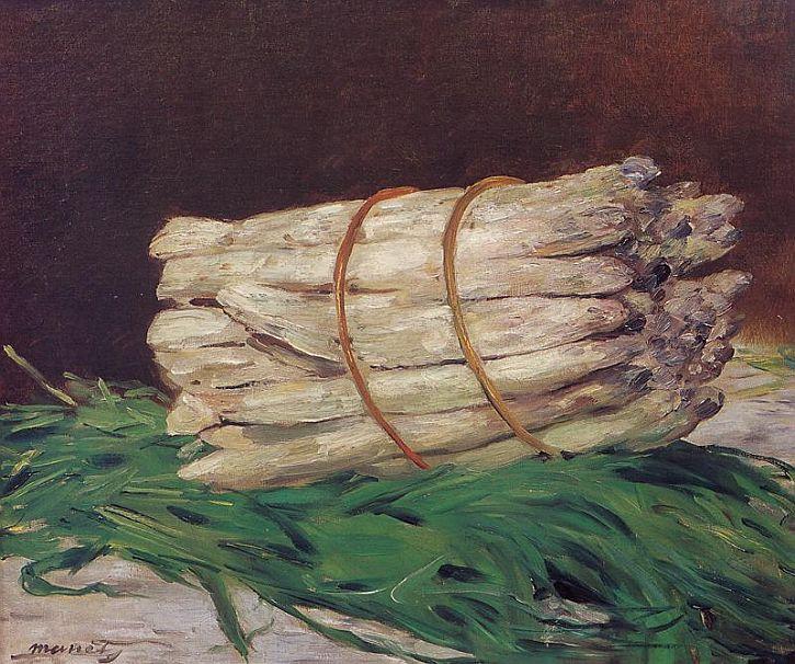 Edouard Manet Bunch of Asparagus, 1880