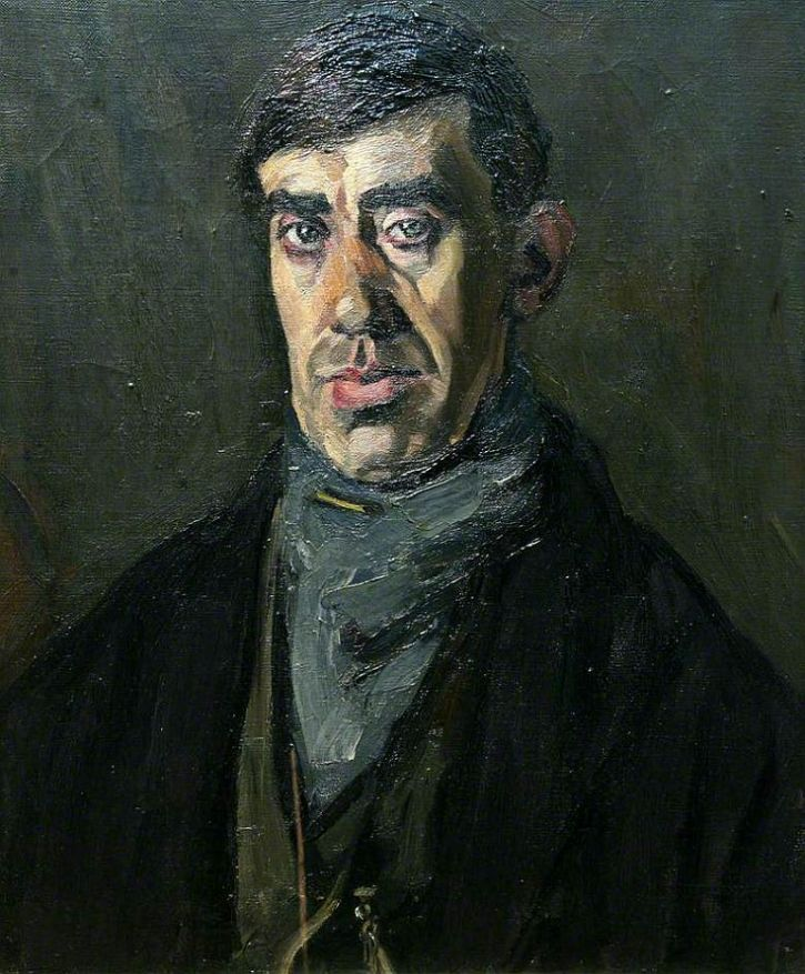 Evan Walters, The Convalescent Miner, 1927