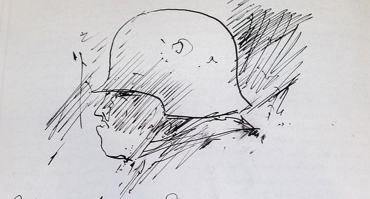 Gunter Grass as a soldier