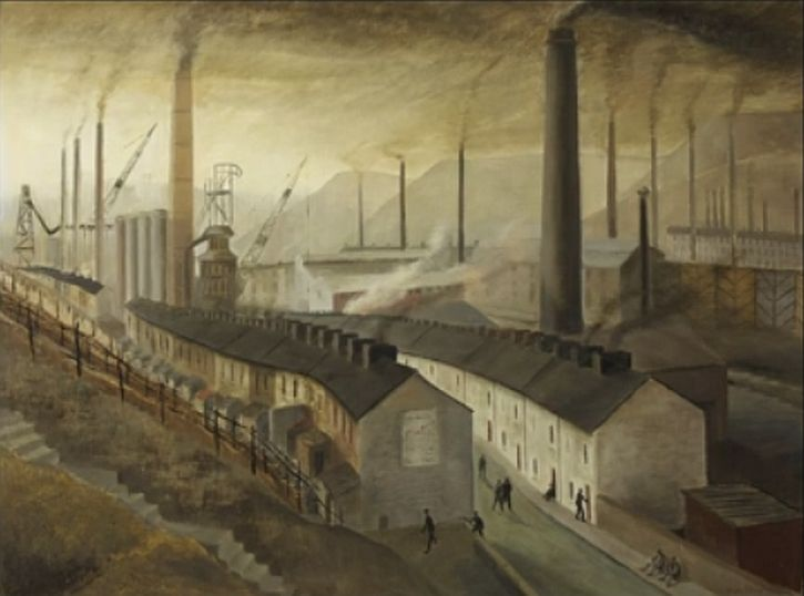 Nan Youngman,Steelworks, Ebbw Vale, c1951