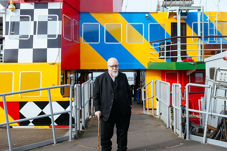 Peter Blake and the Dazzle Ferry