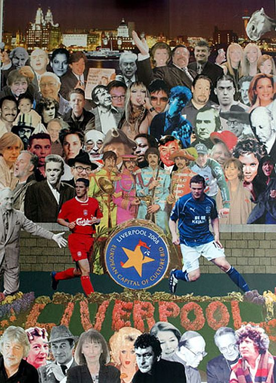 Peter Blake, Liverpool 2008, Capital of Culture, 2012