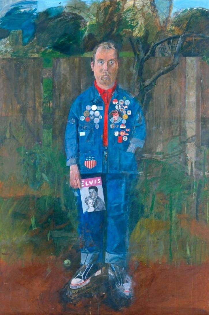 Peter Blake, Self-Portrait with Badges, 1961