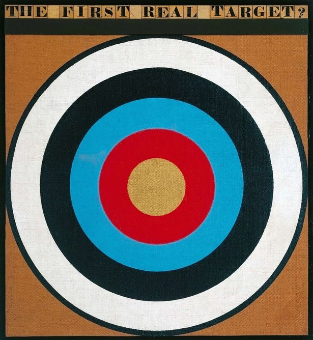 Peter Blake, The First Real Target, 1961