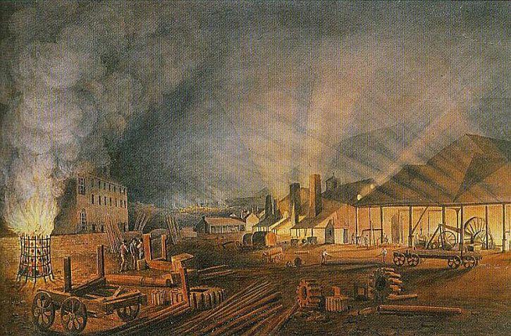 Rolling Mills, Thomas Hornor, c.1817
