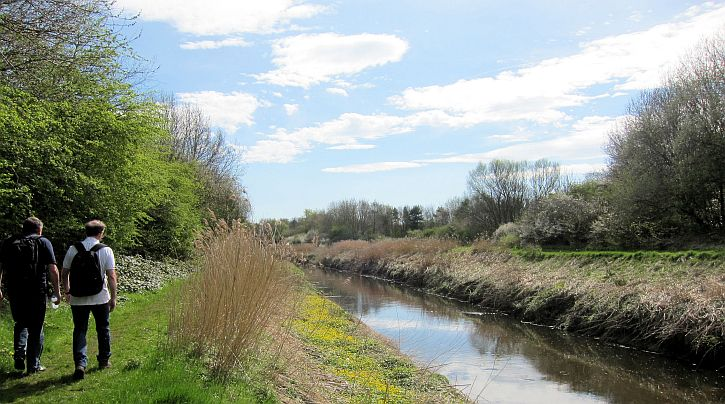Walking The Mersey Along Sankey Brook To Widnes That S
