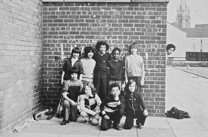 Tricia Porter, Football team, 1974