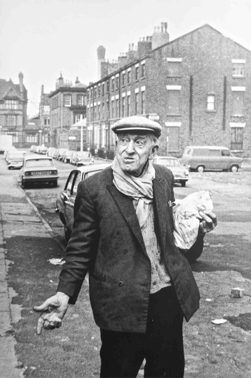 Tricia Porter, Local resident on the corner of Sugnall Street and Falkner Street, 1972