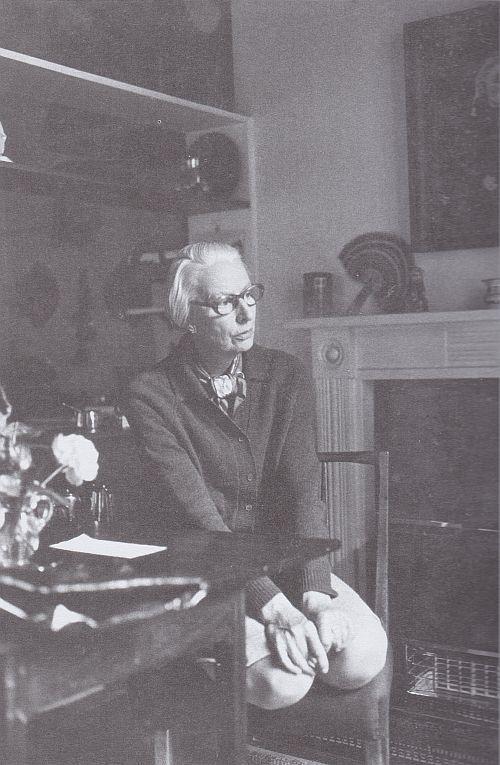 Tricia Porter, Margaret Simey at home, Blackburne Place,1972