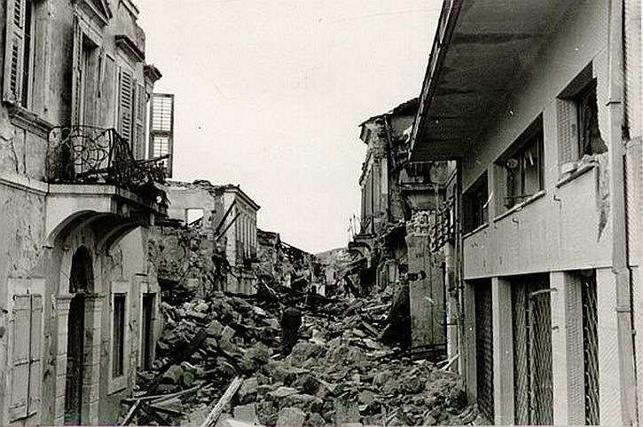 1953 Kefalonia earthquake 2