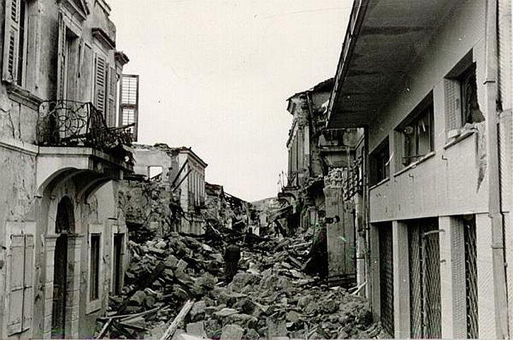 1953 Kefalonia earthquake 2