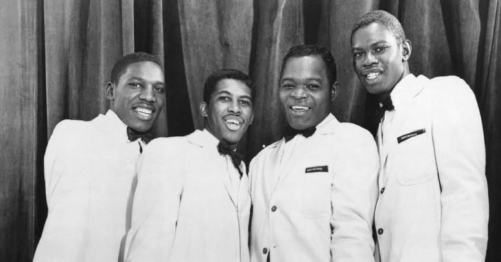 Ben E King and the Drifters in 1959