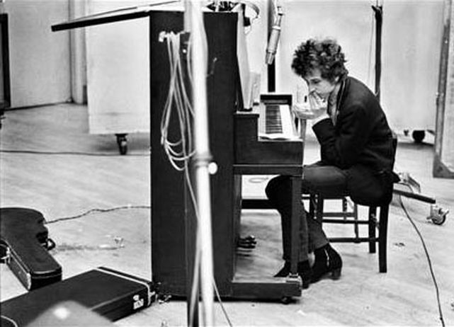 "Jan 15, 1965 Bob Dylan - The third & final recording session for ""Bringing It All Back Home"