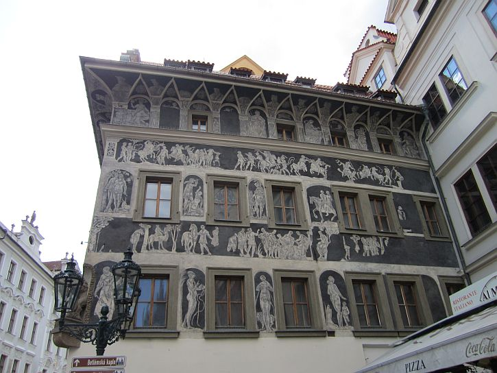 Kafka home on Old Town Square