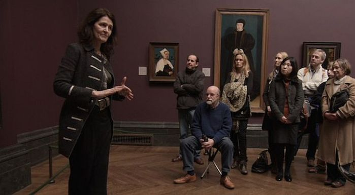 Fred Wiseman in the NationalGallery
