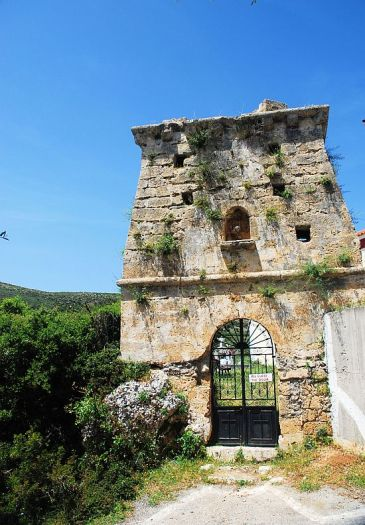 The bell-tower, Old Skala