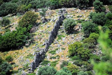 The mighty wall of Kyatis