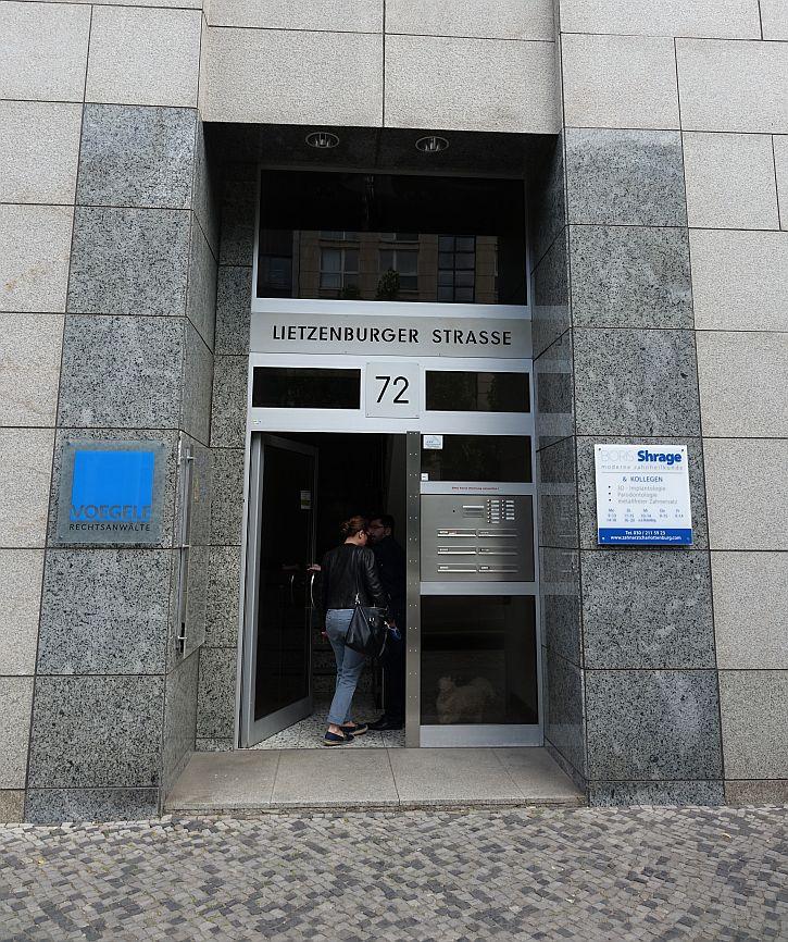 72 Lietzenburger Strasse