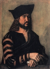 Albrecht Dürer, Portrait of Elector Frederick the Wise of Saxony. 1496