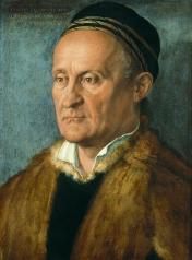 Albrecht Dürer, Portrait of Jakob Muffel,1526