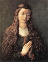 Albrecht Dürer, Portrait of the Young Fürleger with Loose Hair, 1497