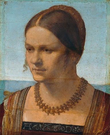Albrecht Dürer, Portrait of Young Venetian Woman,1506