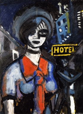 Auguste Chabaud, Girl With Red Tie, 1907