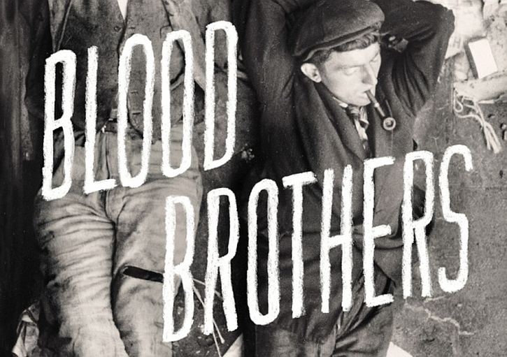 Blood Brothers cover detail