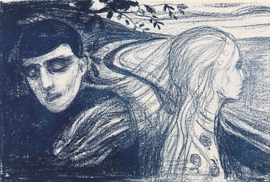 Edvard Munch, Separation II, 1896