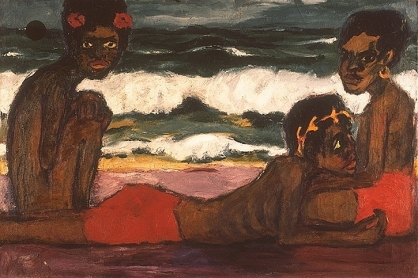 Emil Nolde, Papuan Youths, 1914