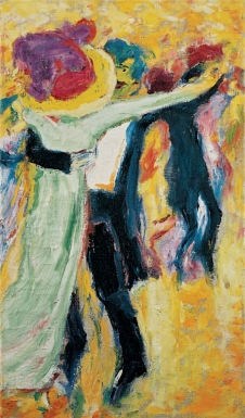 Emil Nolde, The Dance #2, 1911