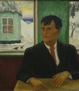 Erich Heckel, Portrait of Otto Mueller, 1930