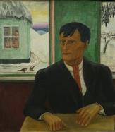 Erich Heckel, Portrait of Otto Mueller, 1930