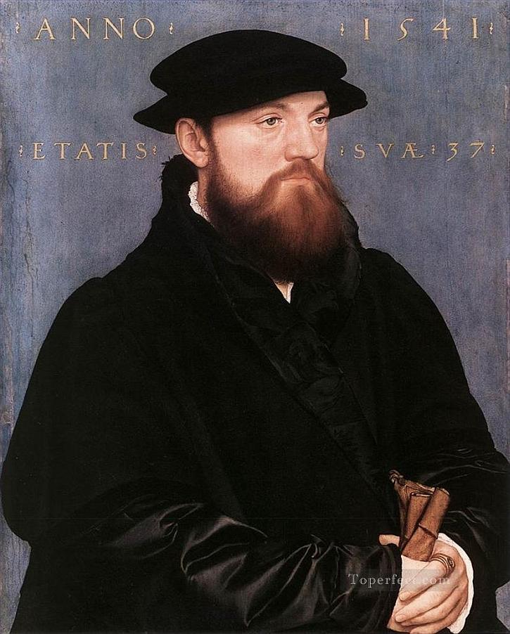 Hans Holbein, Portrait of De Vos van Steenwijk, 1541