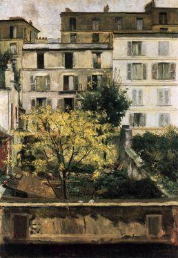 Maria Slavona, Houses at Montmartre, 1898