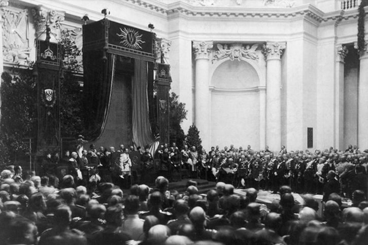 Inauguration of the Reichstag, 5 December 1894