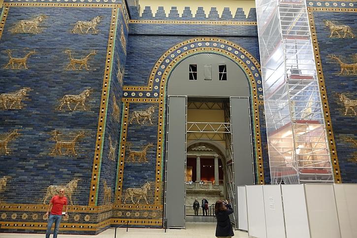 Ishtar Gate of Babylon in the Pergamon Museum