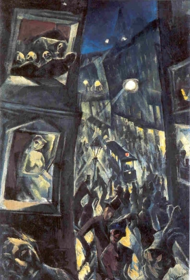 Jakob Steinhardt, The City, 1913